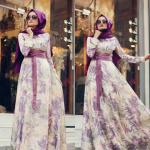 2015 yaz tesettür elbise modelleri