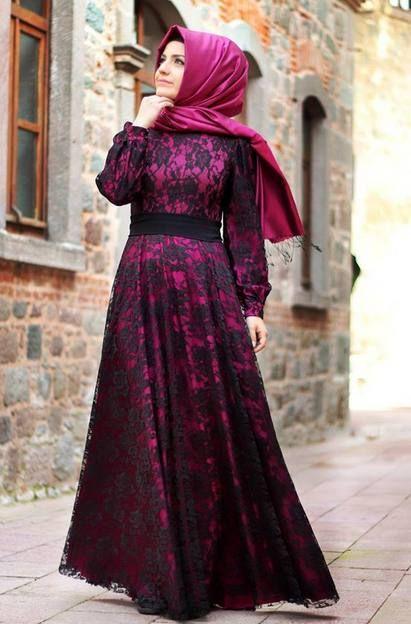 Pınar Şems yazlık tesettür abiye modeli