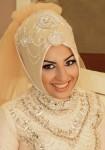 Gösterişli nişan turban modelleri
