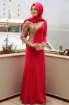 Kırmızı sünnet annesi kıyafetleri