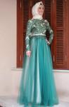 2016 Tesettür kına kıyafetleri