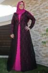 Büyük beden abiye elbiseler