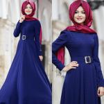 Pınar Şems mavi abiye modelleri