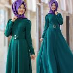 Pınar Şems yeşil abiye modelleri