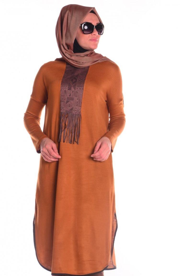 Sefa Merve kışlık tunik modelleri