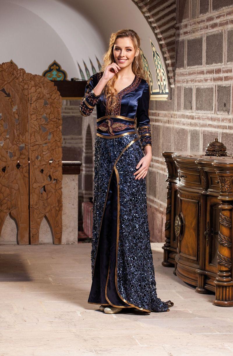 Tesettür kına elbise modeli