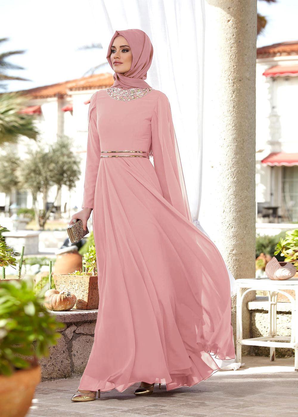 37ad3cd1ebfd9 Tesettür Mezuniyet Elbiseleri