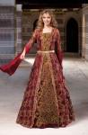 Tesettür prenses kına kıyafetleri modelleri