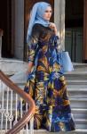 Muslima Wear tivil tesettür elbise modelleri