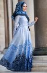 Muslima Wear uzun tesettür abiye modelleri
