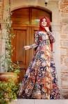 Pınar Şems etknik motifli elbise