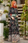 Uzun boylular için tesettür elbise