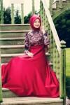 Genç stil tesettür elbise