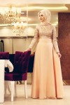 Minel Aşk tesettür elbise 2016