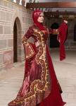 Tesettür kına elbiseleri 2016