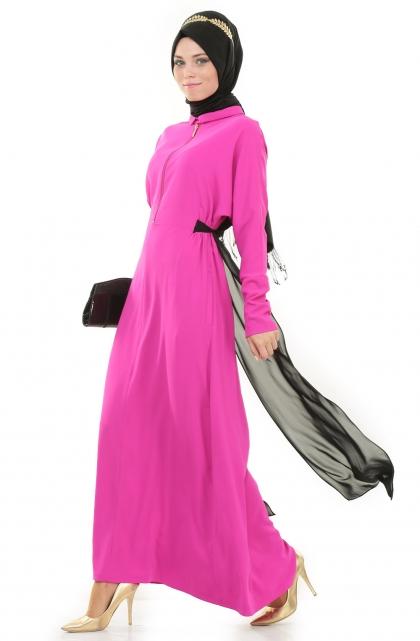 Puane yeni tesettür elbise