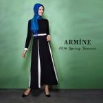 Armine 2016 tesettür elbise