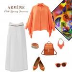 Armine gömlek kombini