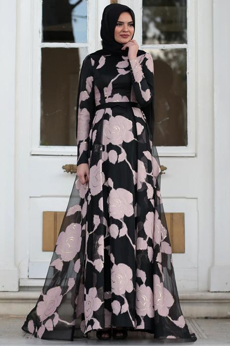 Hilal Baş tesettür elbise Modameyra