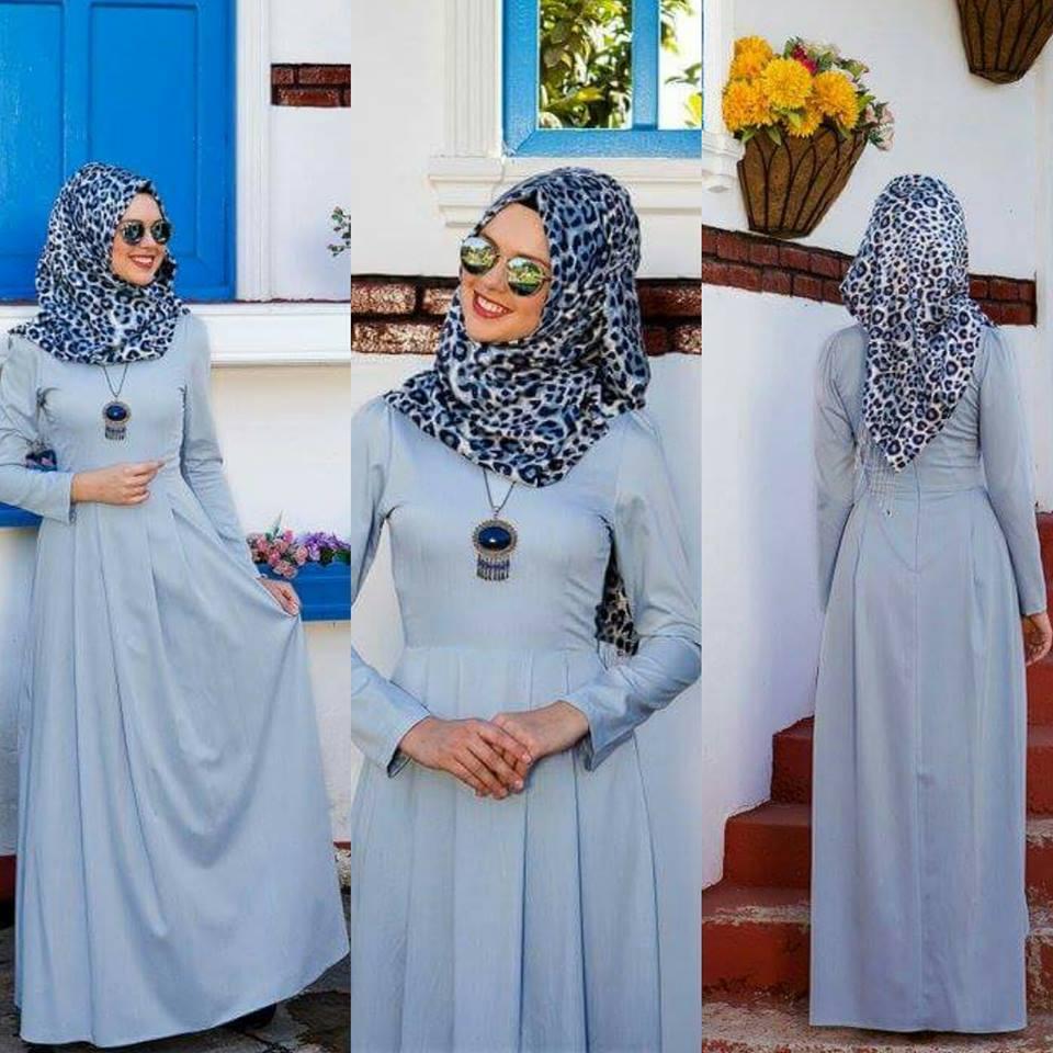 Ramazana özel tesettür elbise