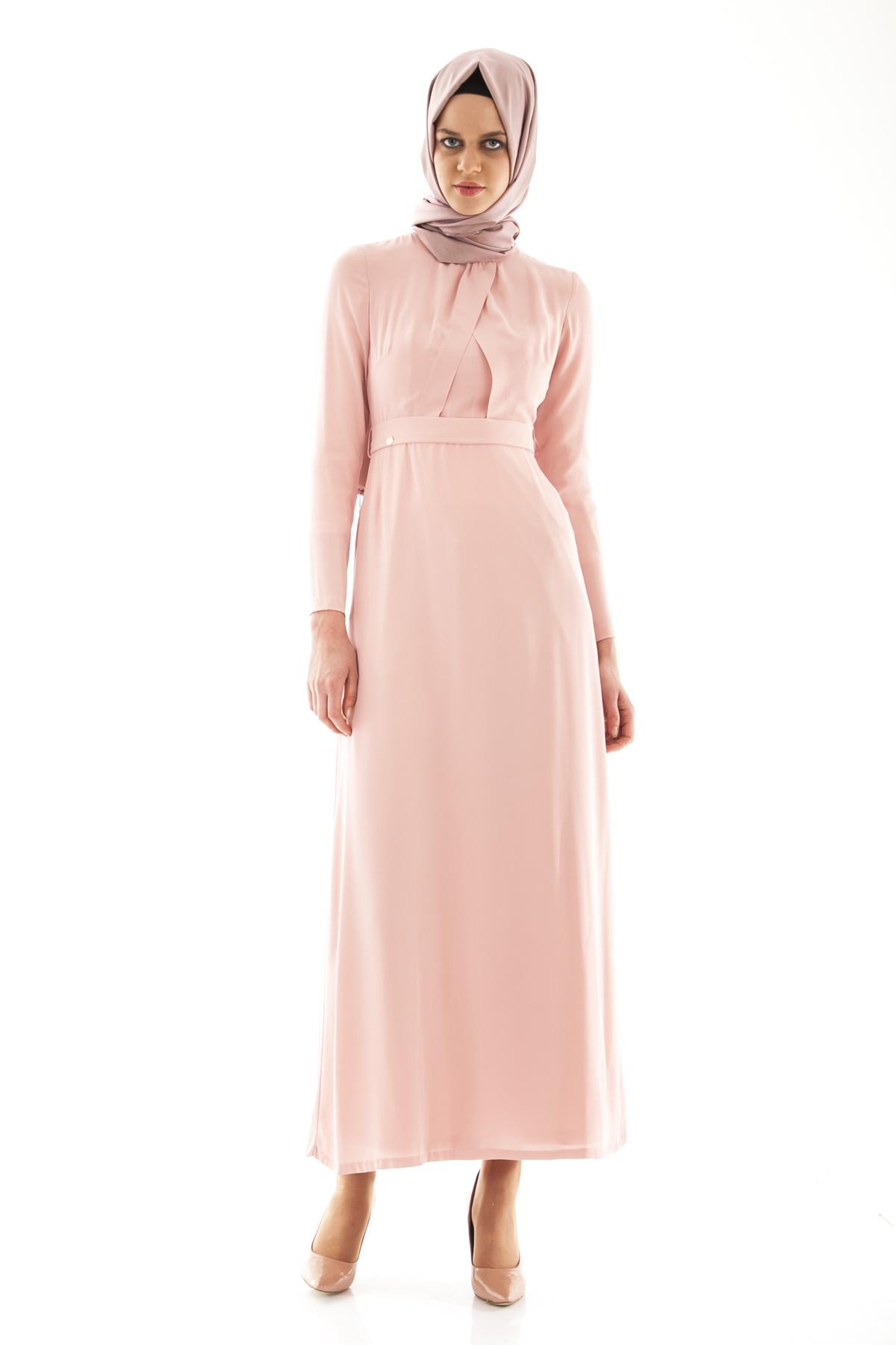Armine yazlık kemerli elbise