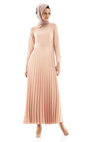 Armine yazlık pileli elbise