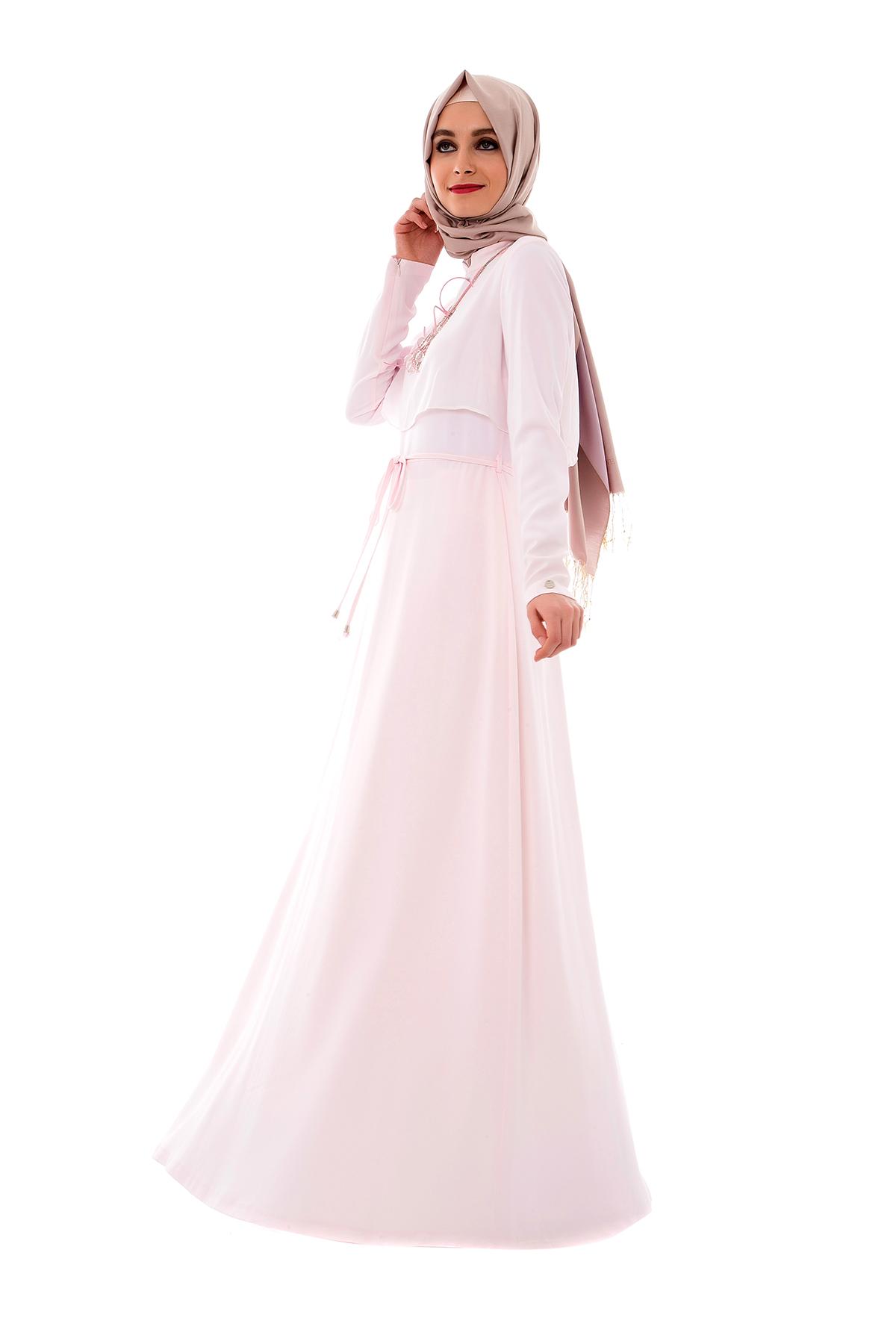Armine yazlık pudra elbise