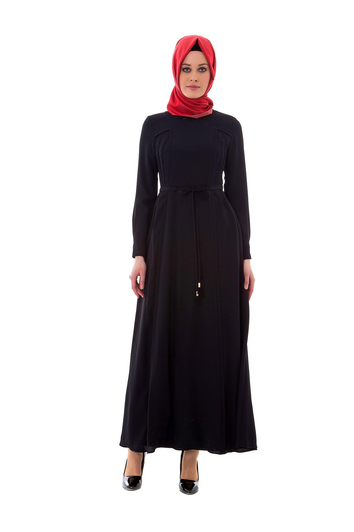 Armine yazlık siyah elbise
