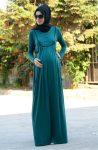 Hamile tesettür yazlık elbise