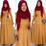 Rabia Şamlı rose elbise
