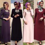 Rabia Şamlı tesettür elbise