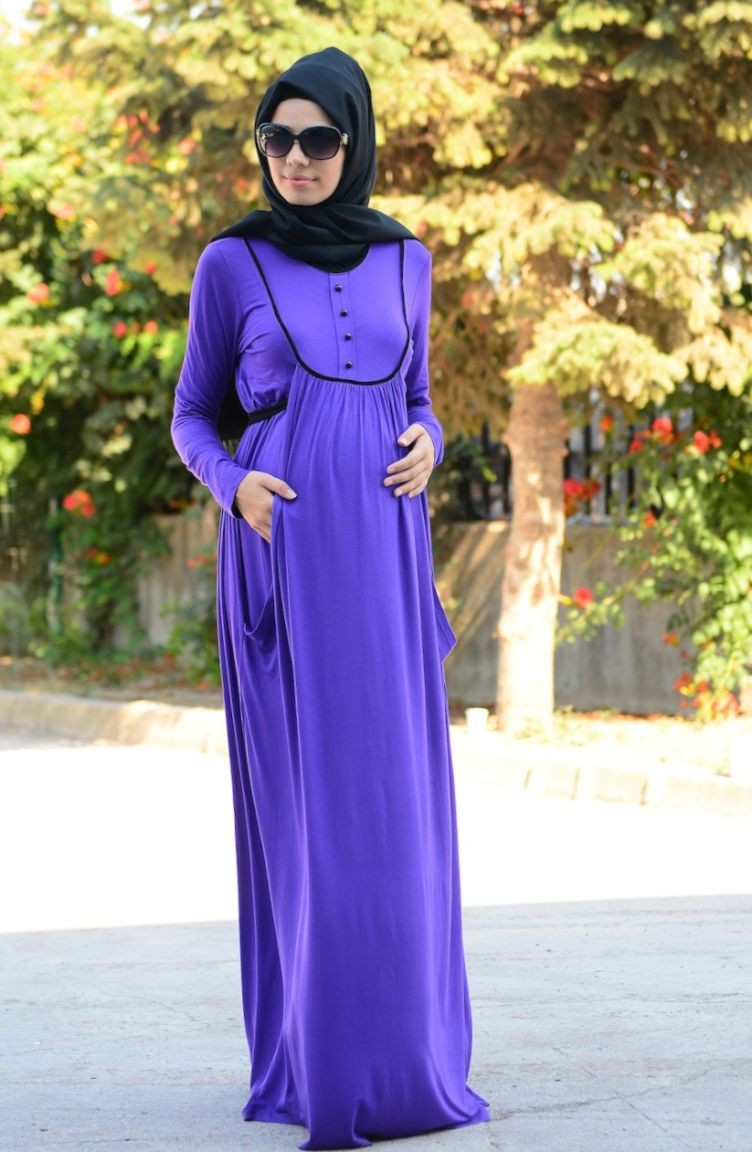 a0d314352cc3d Sefa Merve Tesettür Hamile Elbise
