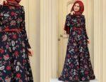 Desenli elbise kombinleri