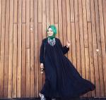 Hülya Aslan elbise kombini