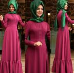 2017 tesettür elbise