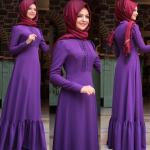 Pınar Şems 2017 tesettür elbise