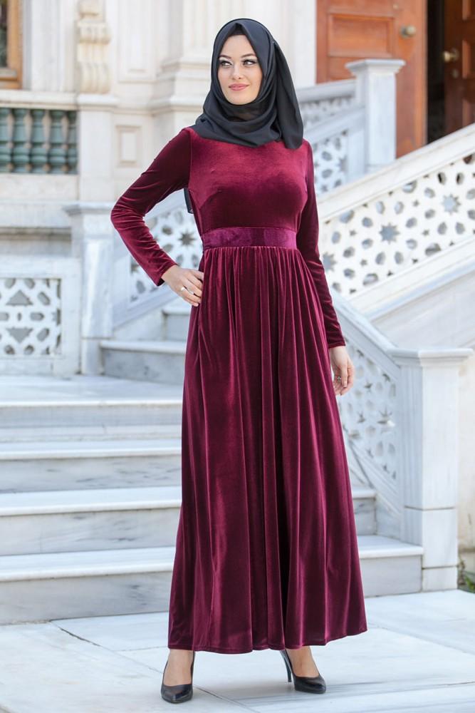 2017 kadife elbise