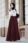 Askılı kadife elbise