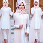 Pınar Şems yelekli tunik
