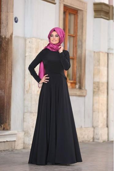 Almarah siyah tesettür elbise