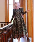Desenli 2017 mezuniyet elbisesi