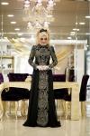 Minel Aşk yeni siyah elbise