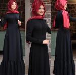 Pınar Şems 2017 siyah elbise