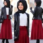 Pınar Şems deri ceket