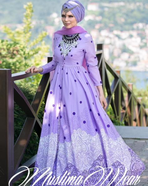 Muslima Wear 2017 elbise