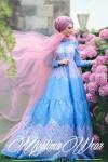 Muslima Wear 2017 maksi elbise