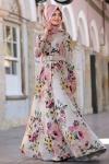 Vintage retro elbise