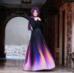Yeni 2017 genç stil abiye elbise