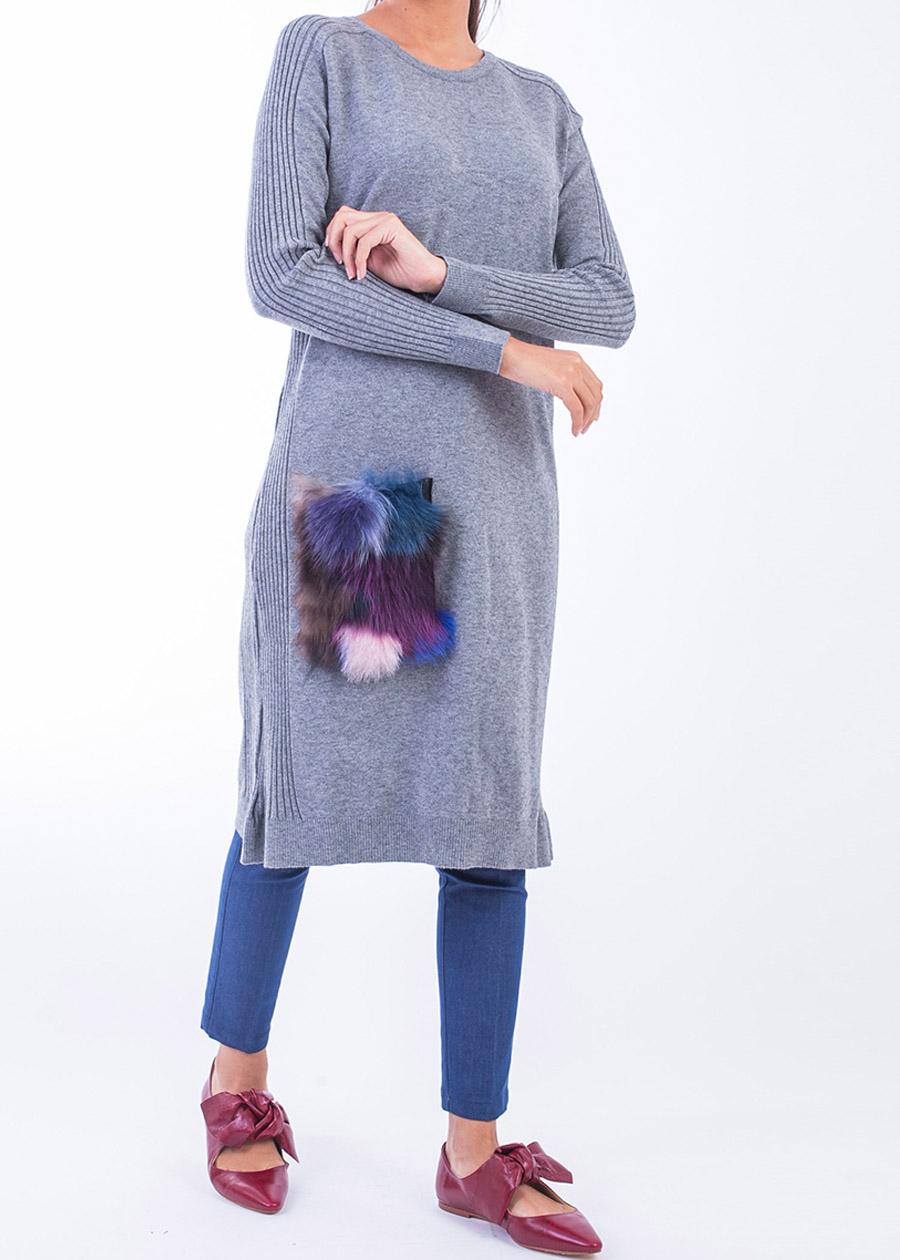 Armağan Giyim cep detaylı triko