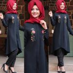 Pınar Şems 2017 siyah tunik
